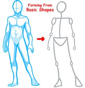 Anime Drawing How To Body Figure Drawing Anime Bodies Anime Drawings Body Drawing