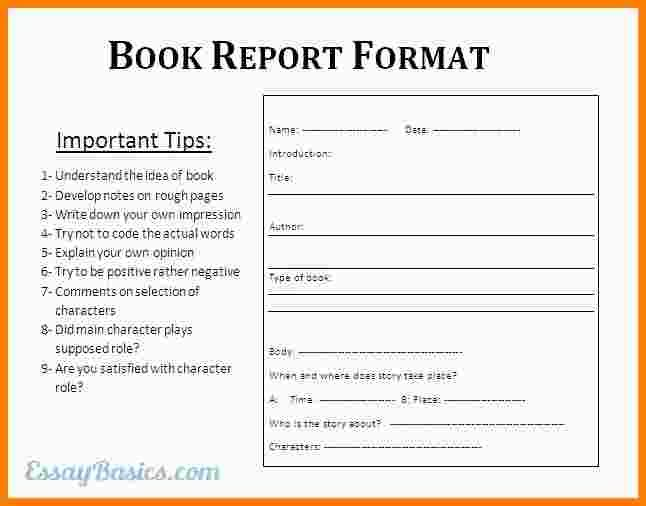 college book report formatok reportg format free word pdf documents
