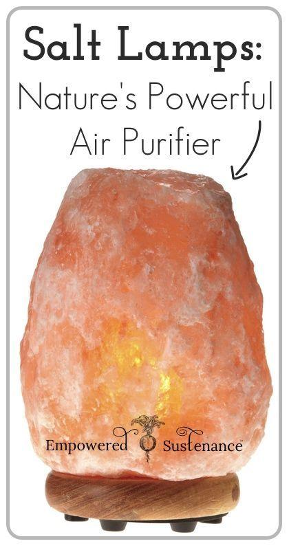 Himalayan Salt Lamps: Ambient Air Purifiers   Himalaya ...
