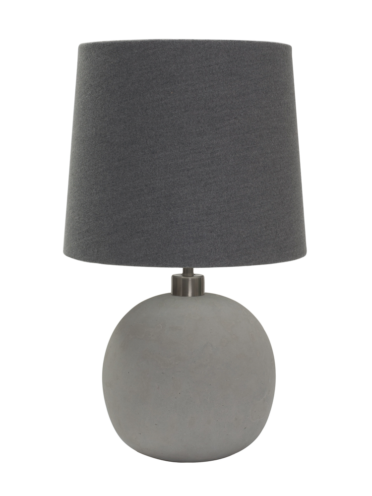 concrete table lamp cox cox nl interiors pinterest. Black Bedroom Furniture Sets. Home Design Ideas