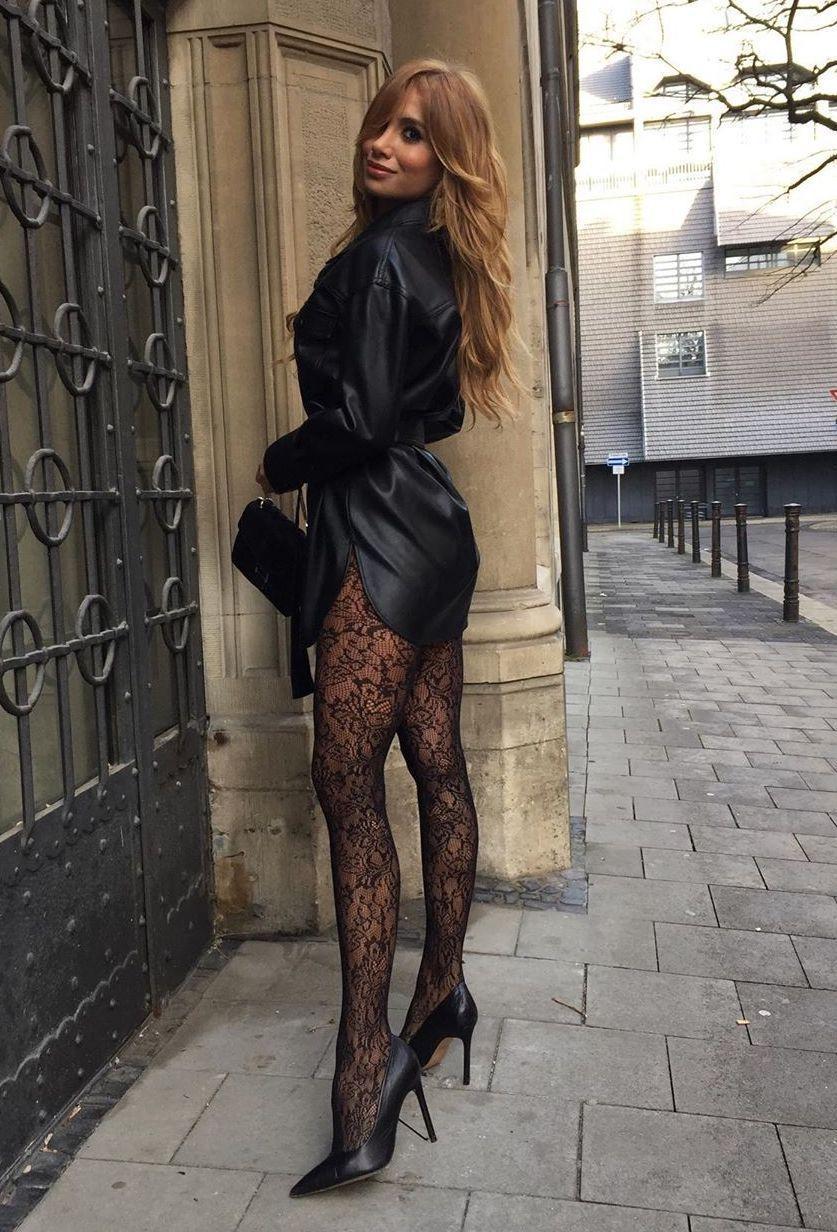 Beautiful Women Wearing Satin Blouses Or Dresses Dress With Stockings Fashion Fashion Clothes Women [ 1232 x 837 Pixel ]