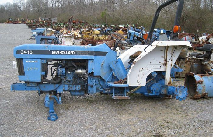 This Tractor Has Been Dismantled For New Holland 3415 Tractor Parts Newholland Tractor Parts New Holland Tractor Tractor Parts New Holland