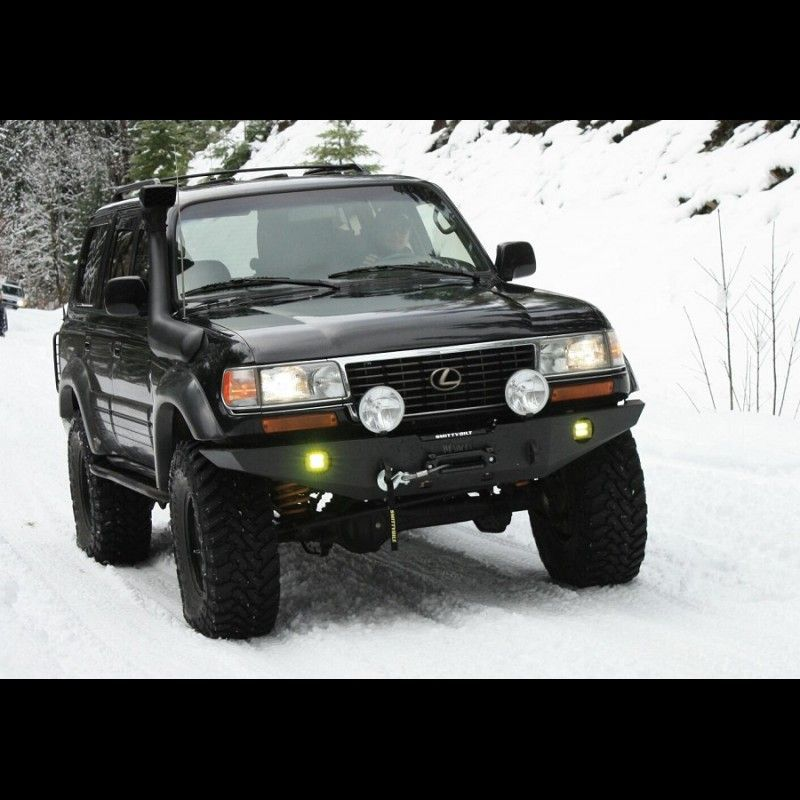 1990 - 1997 FJ80/FZJ80 winch bumper kit | overland vehicles