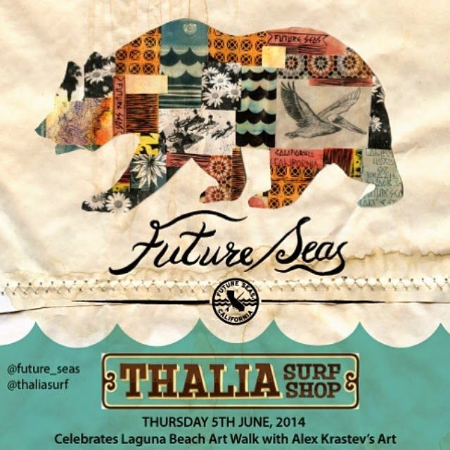 Art Show Today at Thalia Surf shop!