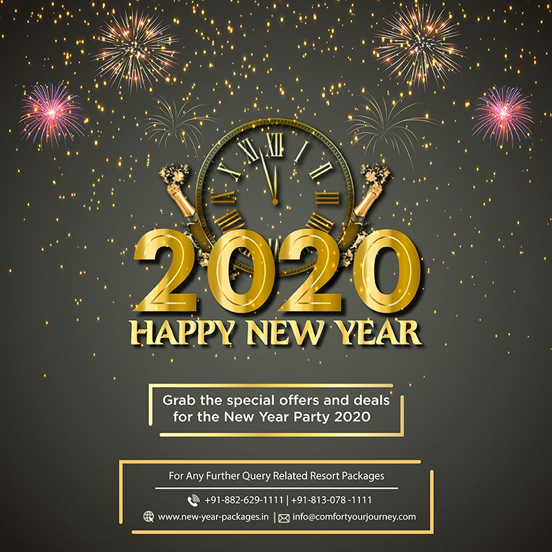 Have you made a plan to celebrate your New Year 2020 Eve