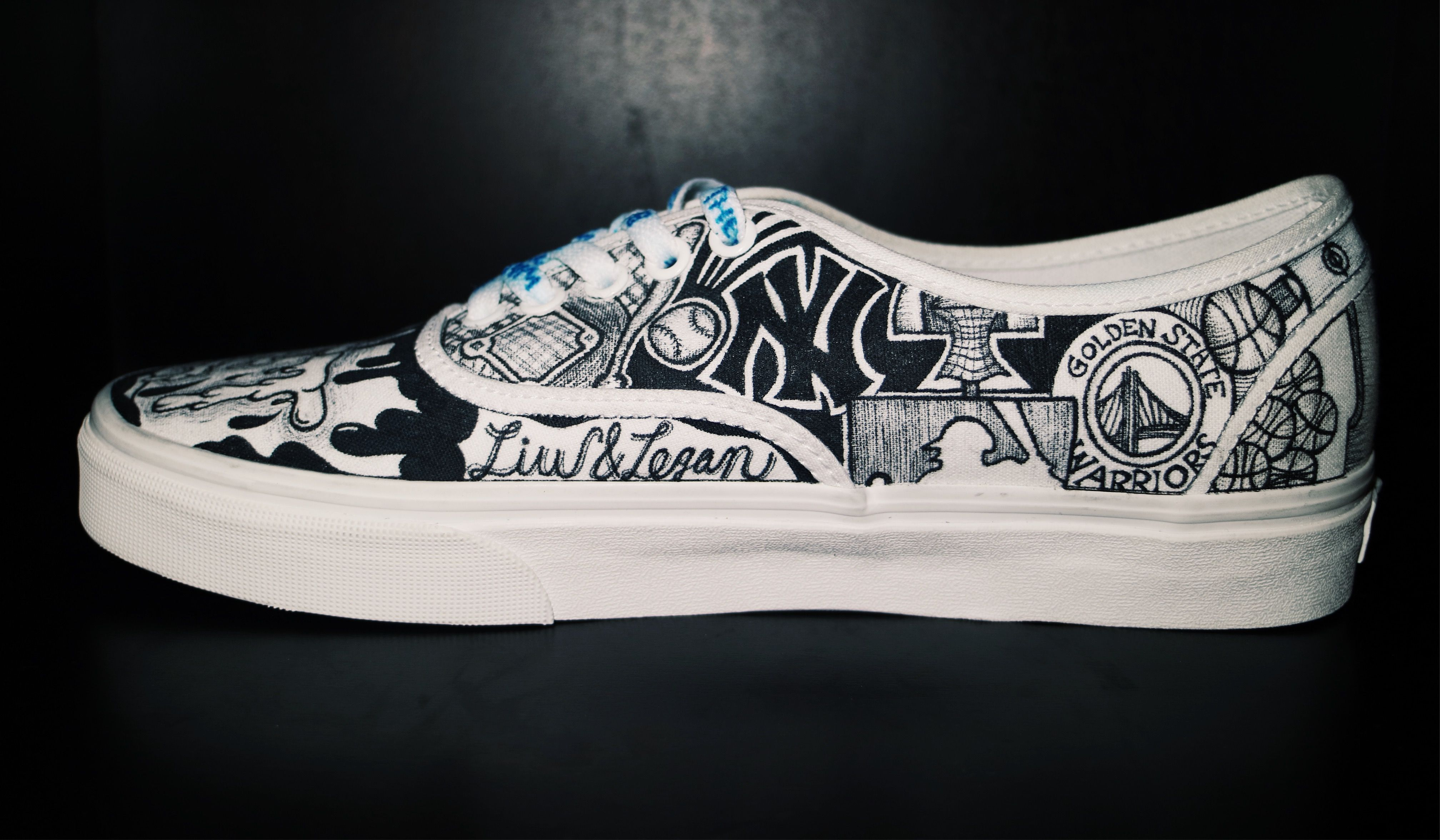 These Custom Hand Drawn Vans Feature The Customer S Favorite