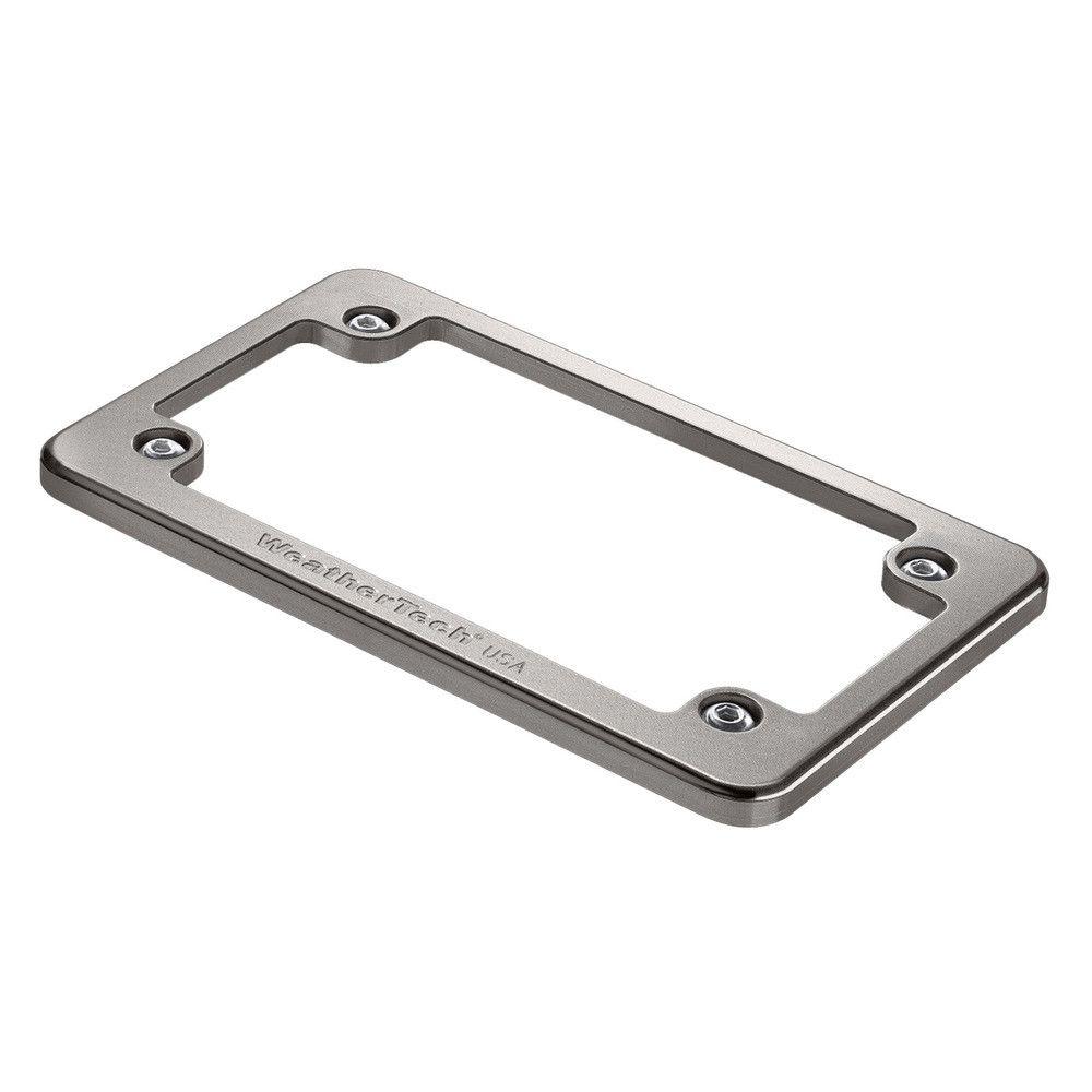 Titanium Motorcycle Billet License Plate Frame - Billet Aluminum ...