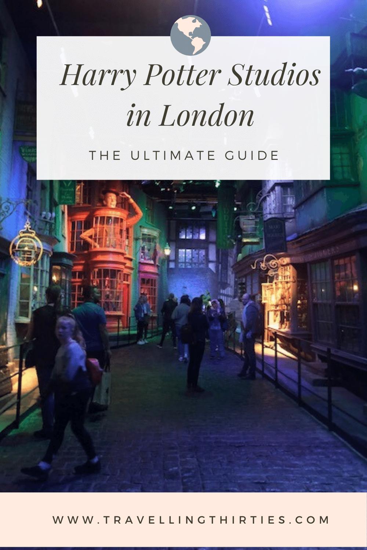 Visiting the Warner Bros. Harry Potter Studio in London in