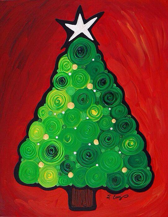 Cumming under the christmas tree