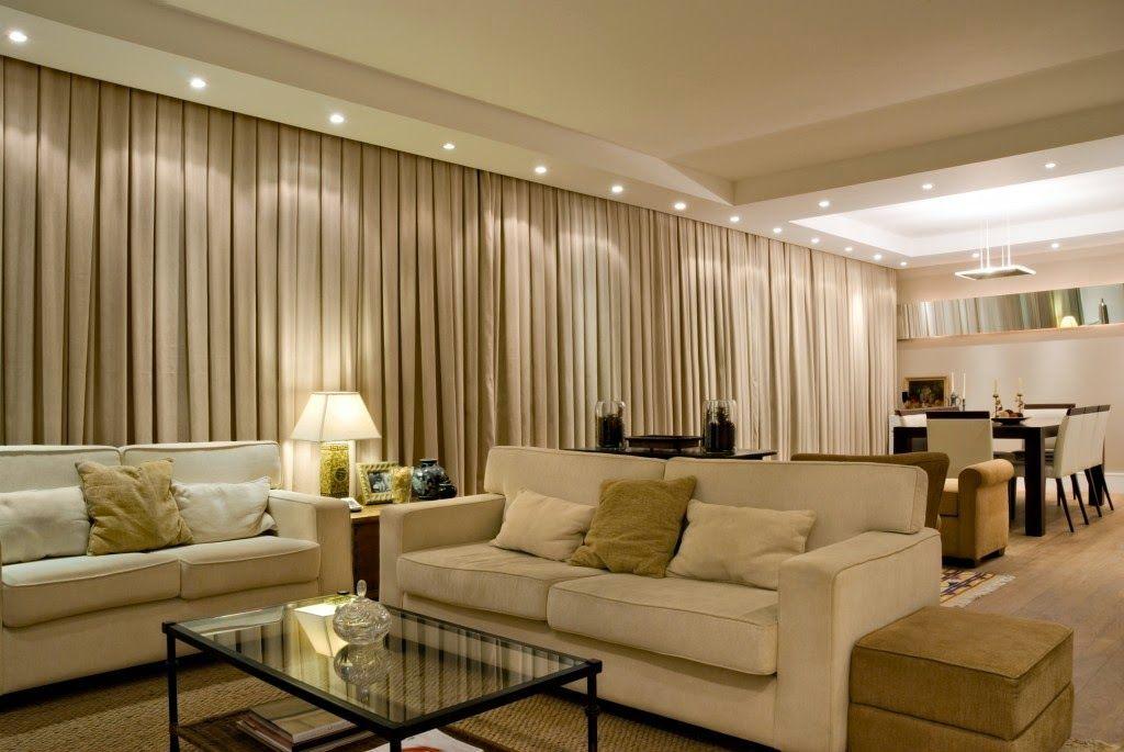 Cortinas – veja dicas, modelos, tecidos e ambientes decorados ...