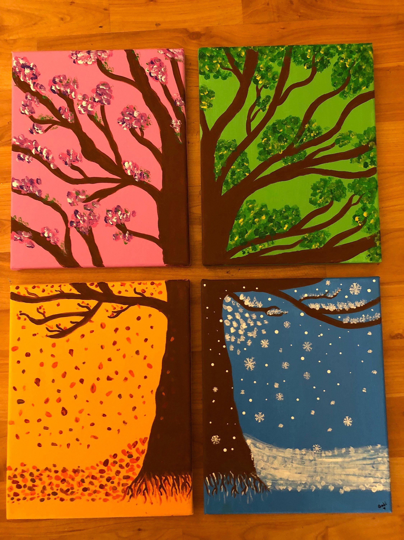 Four Seasons Tree In