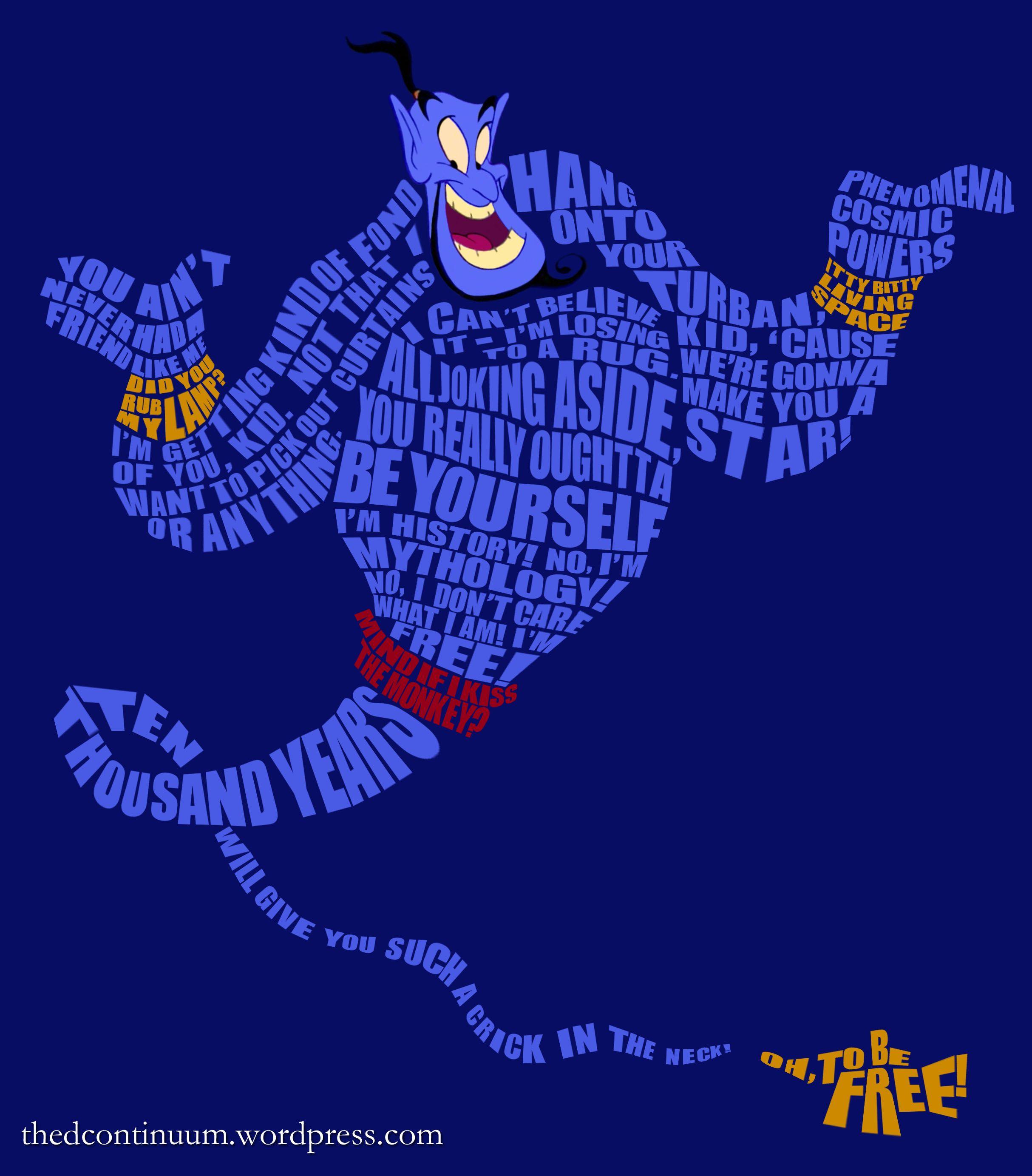 Genie … | Pinteres… for Genie Aladdin Quotes  585eri
