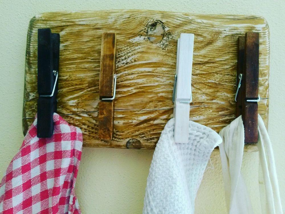 Porta asciugapiatti strofinacci presine grembiuli for Bricolage arredamento