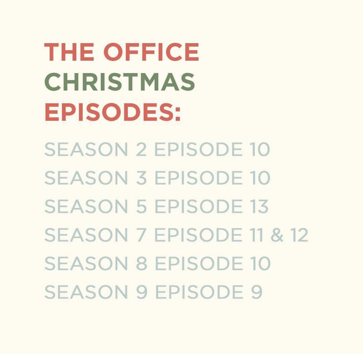 The Office Christmas Episode List Office Christmas Episodes Christmas Episodes Christmas Drinking Games
