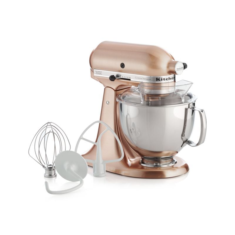 Kitchenaid Copper Metallic Series Stand Mixer Reviews Crate