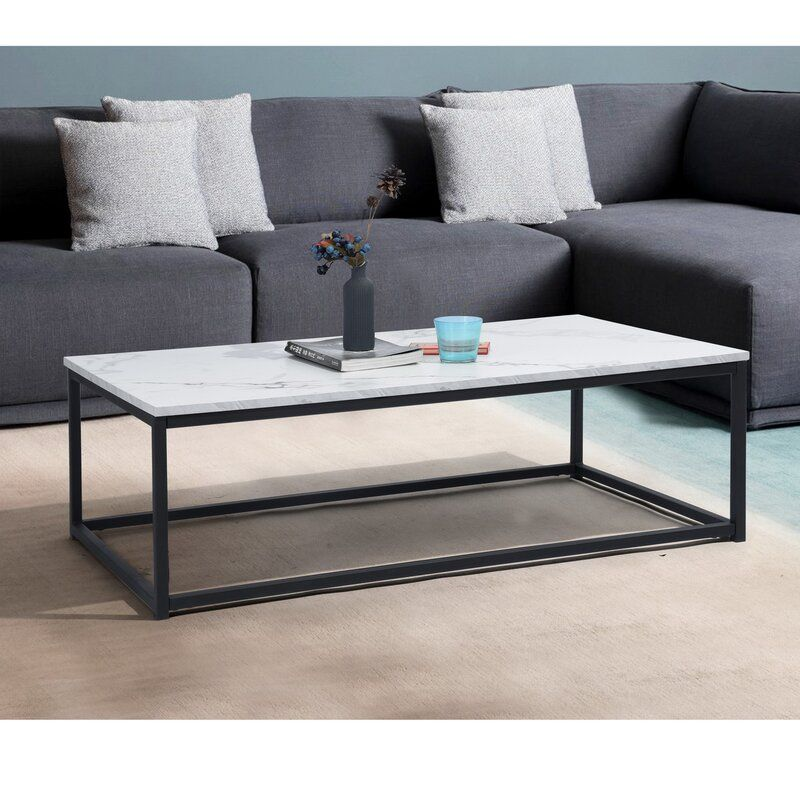 Katharyn Frame Coffee Table In 2020 Table Furniture Contemporary Home Decor