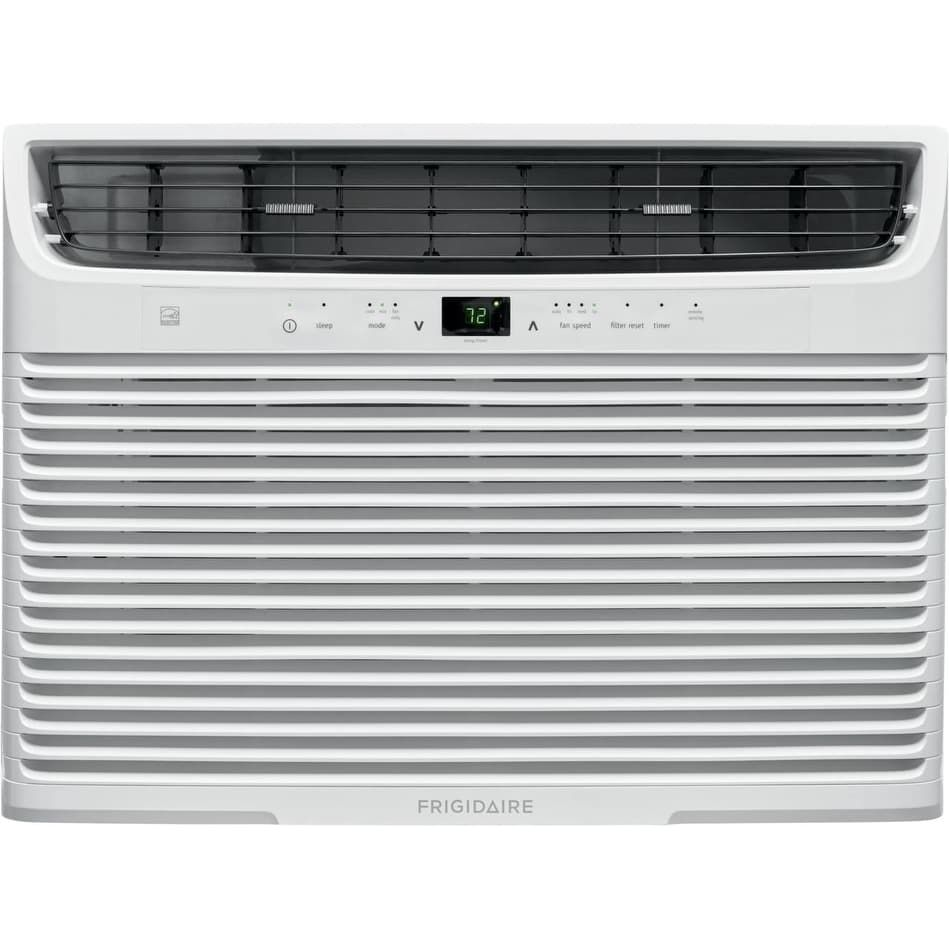 Frigidaire Energy Star Window Mounted Air Conditioner With 15000 Btu Cooling Capacity White Window Air Conditioner Compact Air Conditioner Energy Star