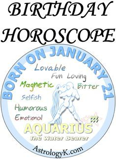 January 26 Birthday Horoscope