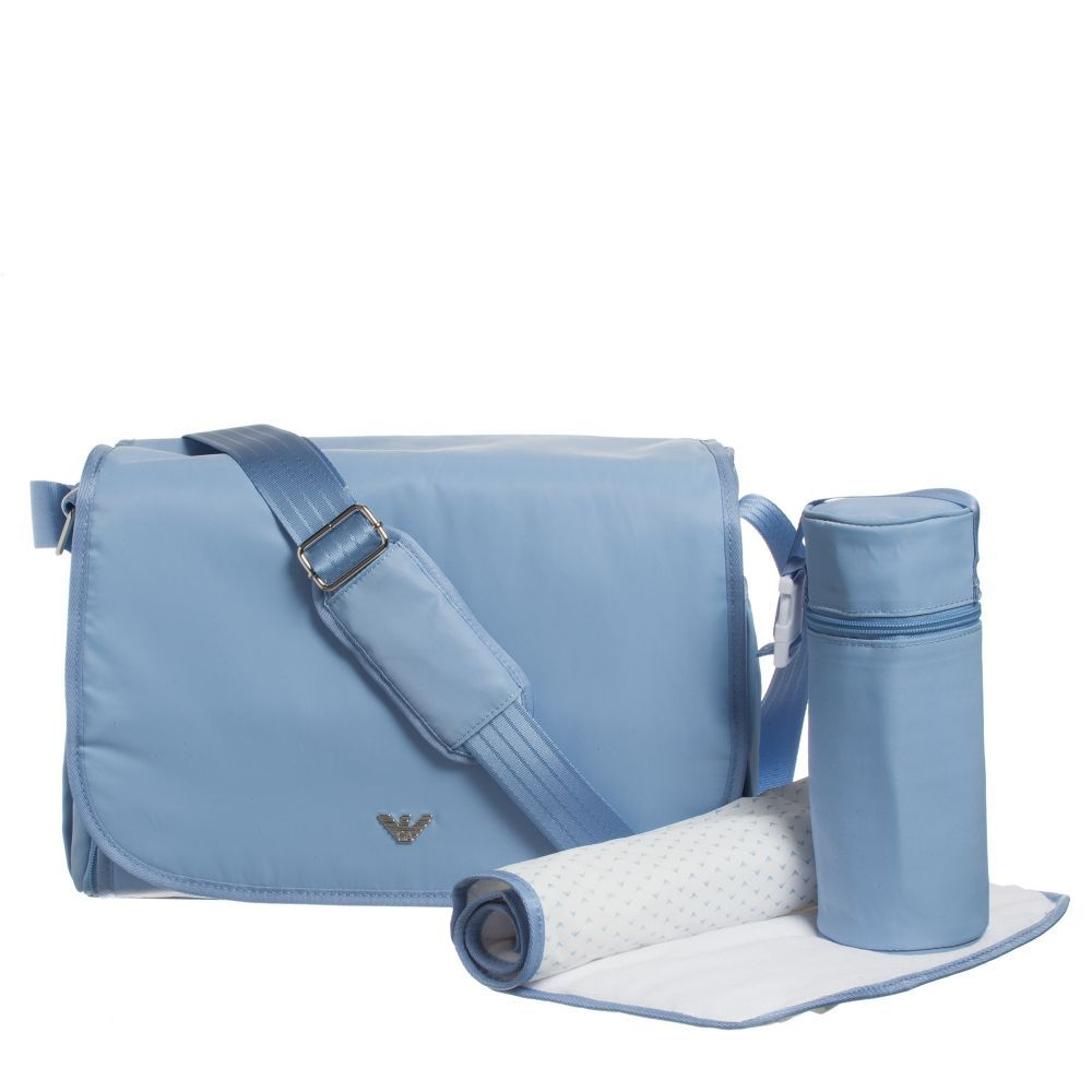Armani Baby Childrensalon Blue Changing Bag Kidsfashion