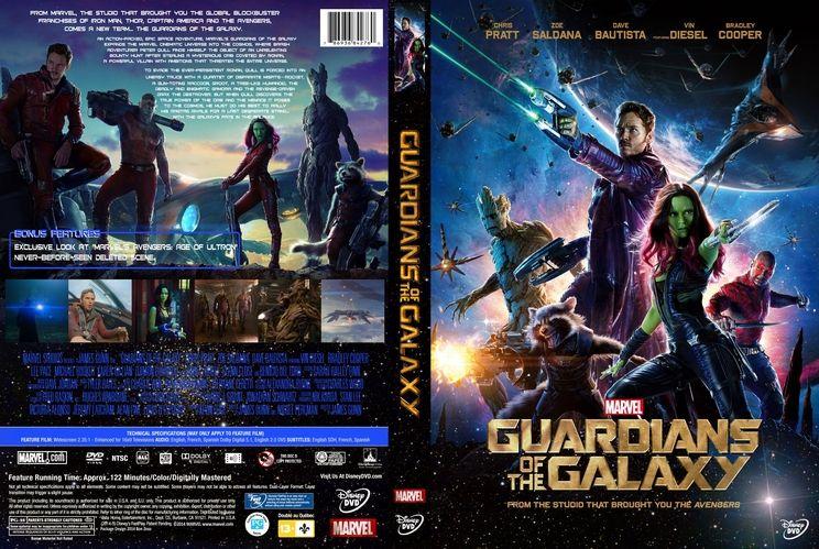 Guardians Of The Galaxy Custom Dvd Cover Custom Dvd Cover Art