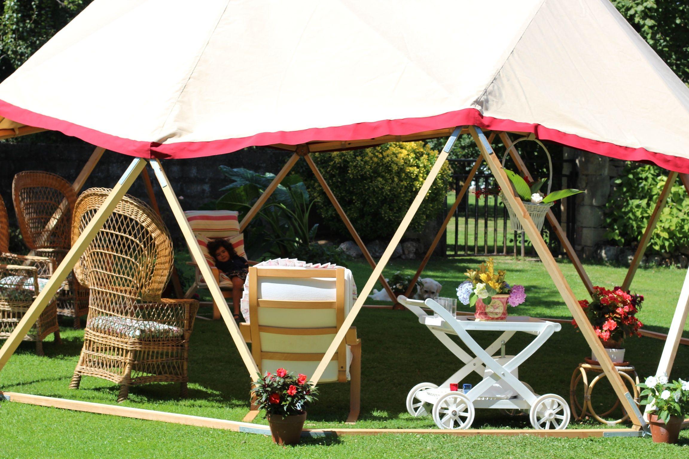 DomoJaya de 40 m2 en Iguña #domo #cúpula geodésica #jardín ...
