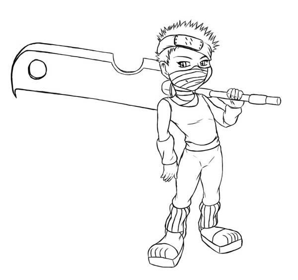 naruto coloring pages – best of characters | Free Coloring Pages ... | 563x600
