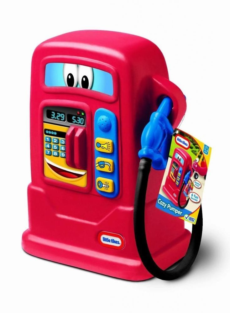 Little Tikes Cozy Pumper Pretend Play Gas Pump For Cozy Coup Ride On Toys New  #LittleTikes