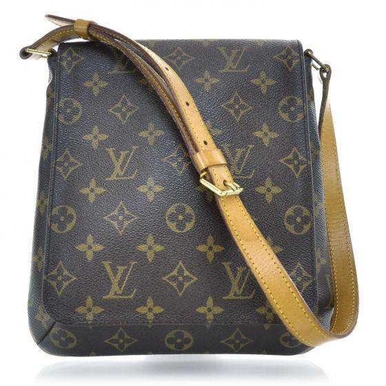 4b8ff3e3311e This is an authentic Louis Vuitton Monogram Musette Salsa. This is an  amazing messenger bag with a classic folder and shoulder strap design with  a ...