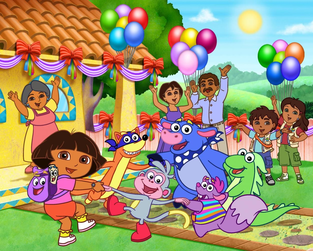 Dora the Explorer Party Games | Dora | Pinterest | Party games ...