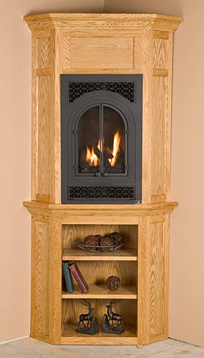 small gas fireplaces