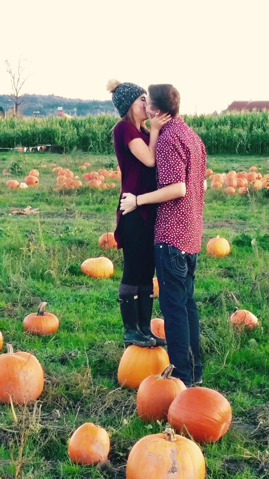 I may be a pumpkin shorter then you but I still love you more