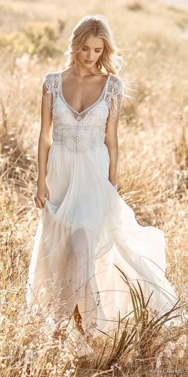 Wedding  (via Anna Campbell 2017 Wedding Dresses  Signature Capsule