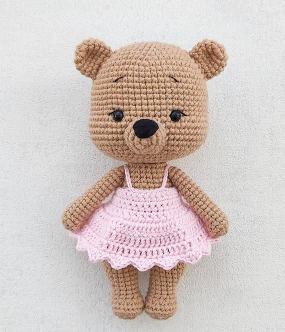 Pattern: CUDDLES THE BEAR- Amigurumi Crochet Bear Pattern-Amigurumi Bear Pattern