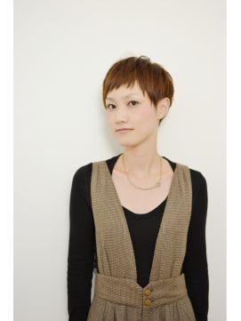 ツーブロックなベリーショート , ヘアスタイル・髪型・ヘアカタログ [キレイスタイル
