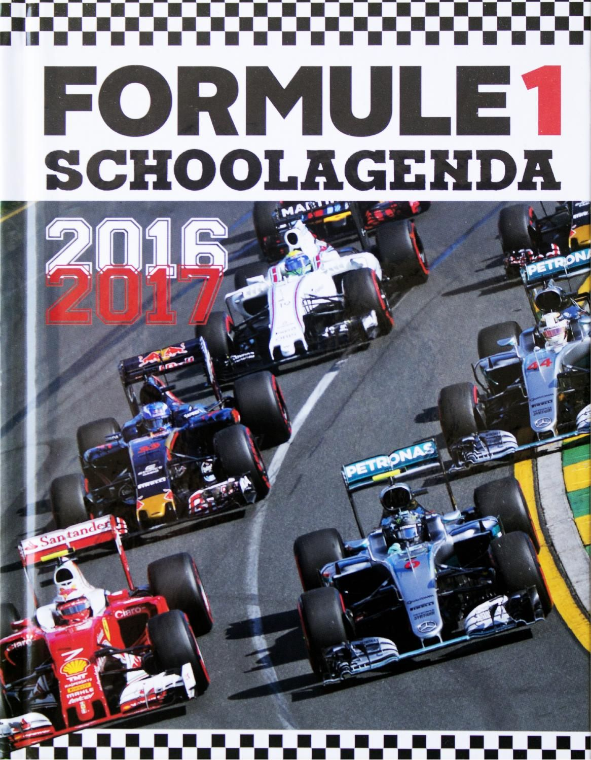 Morgen, de grand Prix van Spanje, is het Red Bull-debuut van Max Verstappen. Het Circuit de Catalunya telt negen rechterbochten en zeven linkerbochten. Max heeft 66 ronden de tijd om zijn visitekaartje af te geven en de wereld te laten zien dat het een terechte keuze is geweest van Red Bull om hem dit stoeltje te geven. Max, heel veel succes! Race Zondag 15 mei, 14.00 uur. De uitslag kun je invullen in de Formule 1 Schoolagenda 2016-2017. Klik op het cover en blader alvast door de agenda.