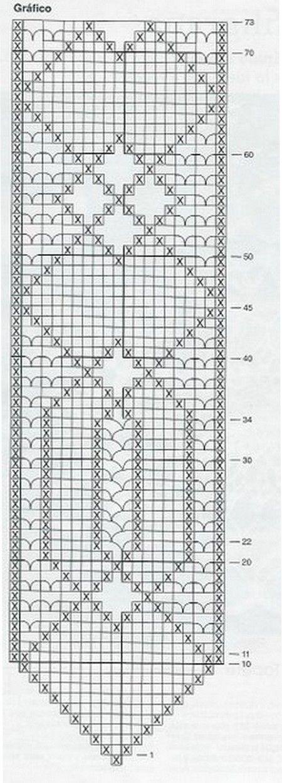 centre de table 8.. | Crochet Patterns & Tutorials Filet ...