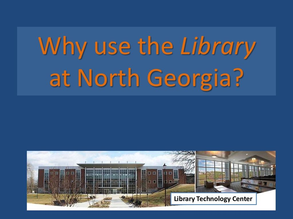 why-use-the-libraryat-ngcsu by bswhitley via Slideshare