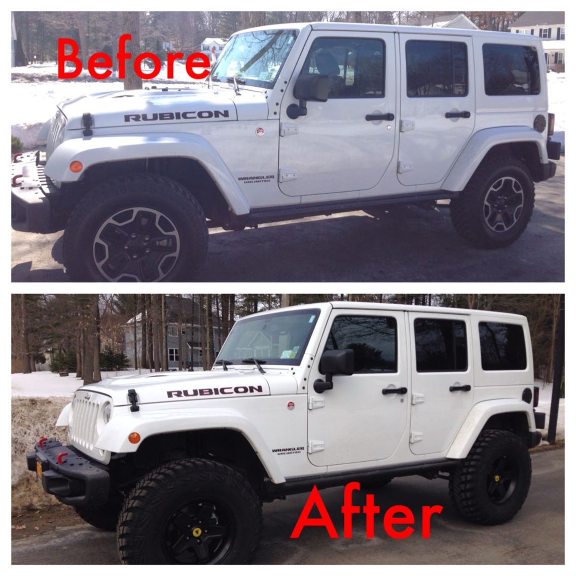New 3.5 Inch Lift And Wheels/tires Installed On Our 2015