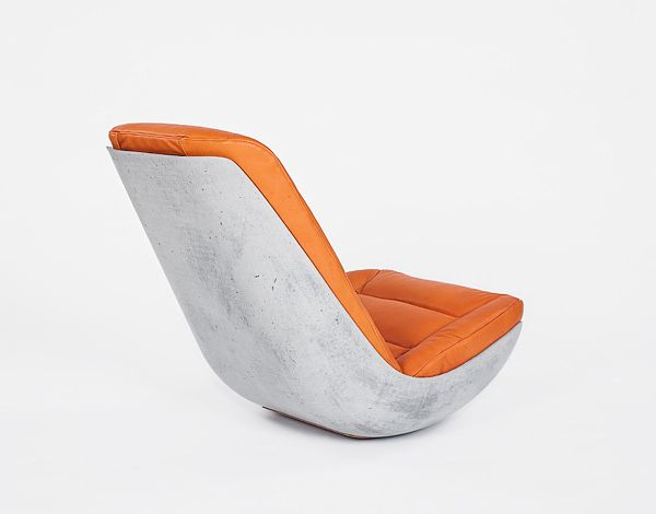 Rocking Chair  - design schaukelstuhl beton paulsberg