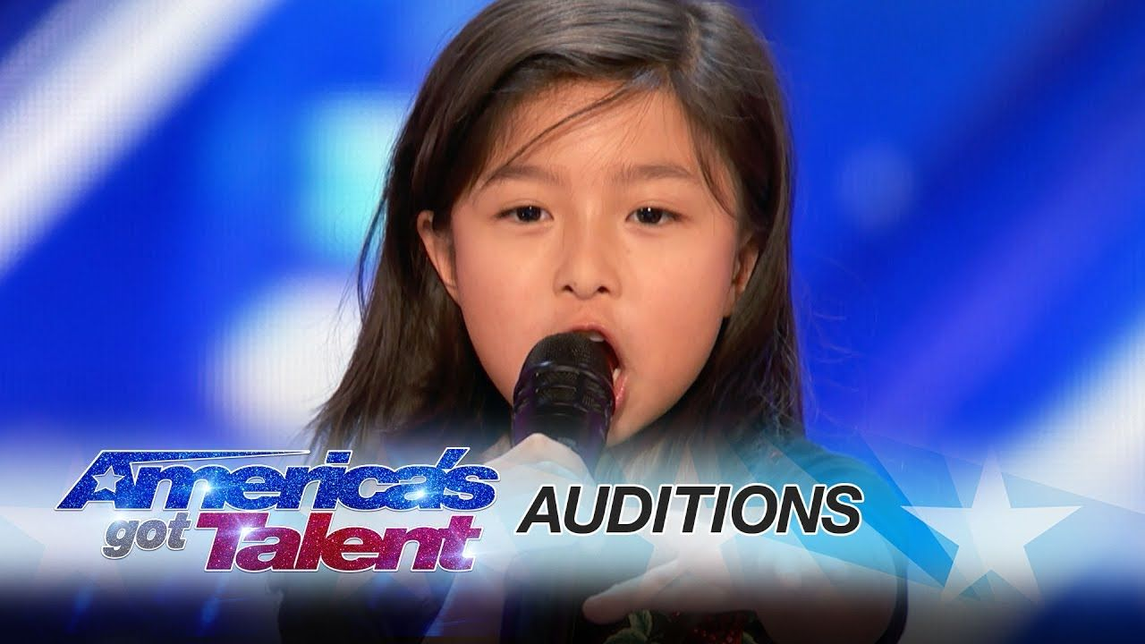Americas got talent 2017 impersonations - Leak 9 Year Old Celine Tam Stuns Crowd With My Heart Will Watch Americas Got Talentvideo