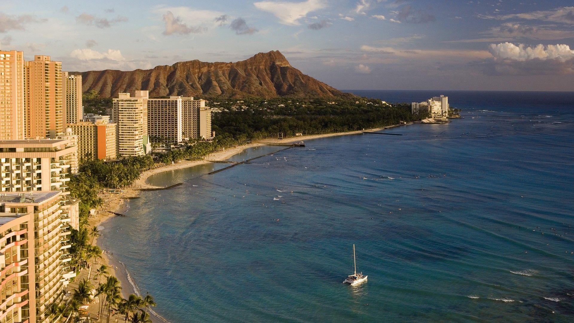 Hawaii Head Diamond Oahu 1920x1080 Wallpaper Hawaii Vacation Waikiki Beach Hawaiian Islands