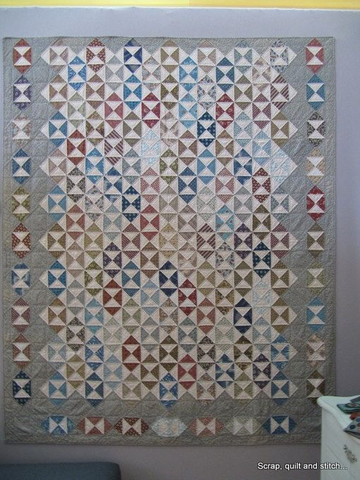 Scrap,quilt and stitch: Exposition Linda Koenig