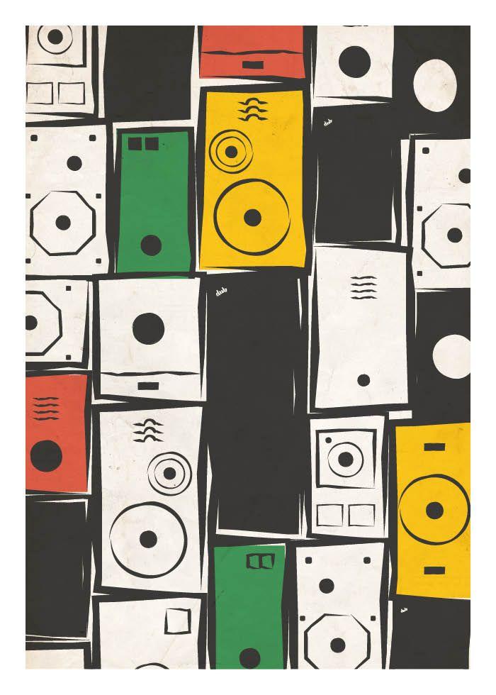 2016 Winners International Reggae Poster Contest