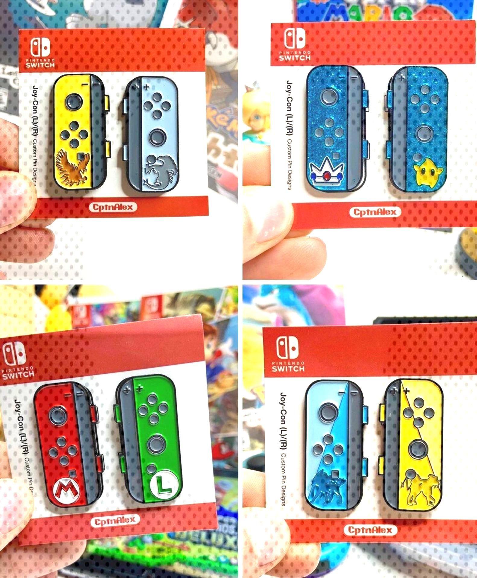 Nintendo Switch Joy-Con Pins!