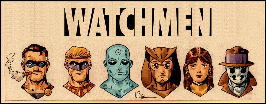 Watchmen Tooned Up.