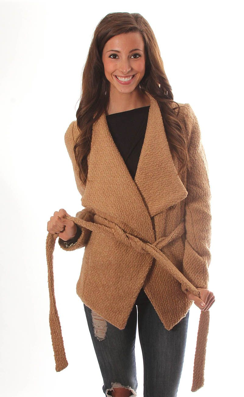 a taste for trends belted coat