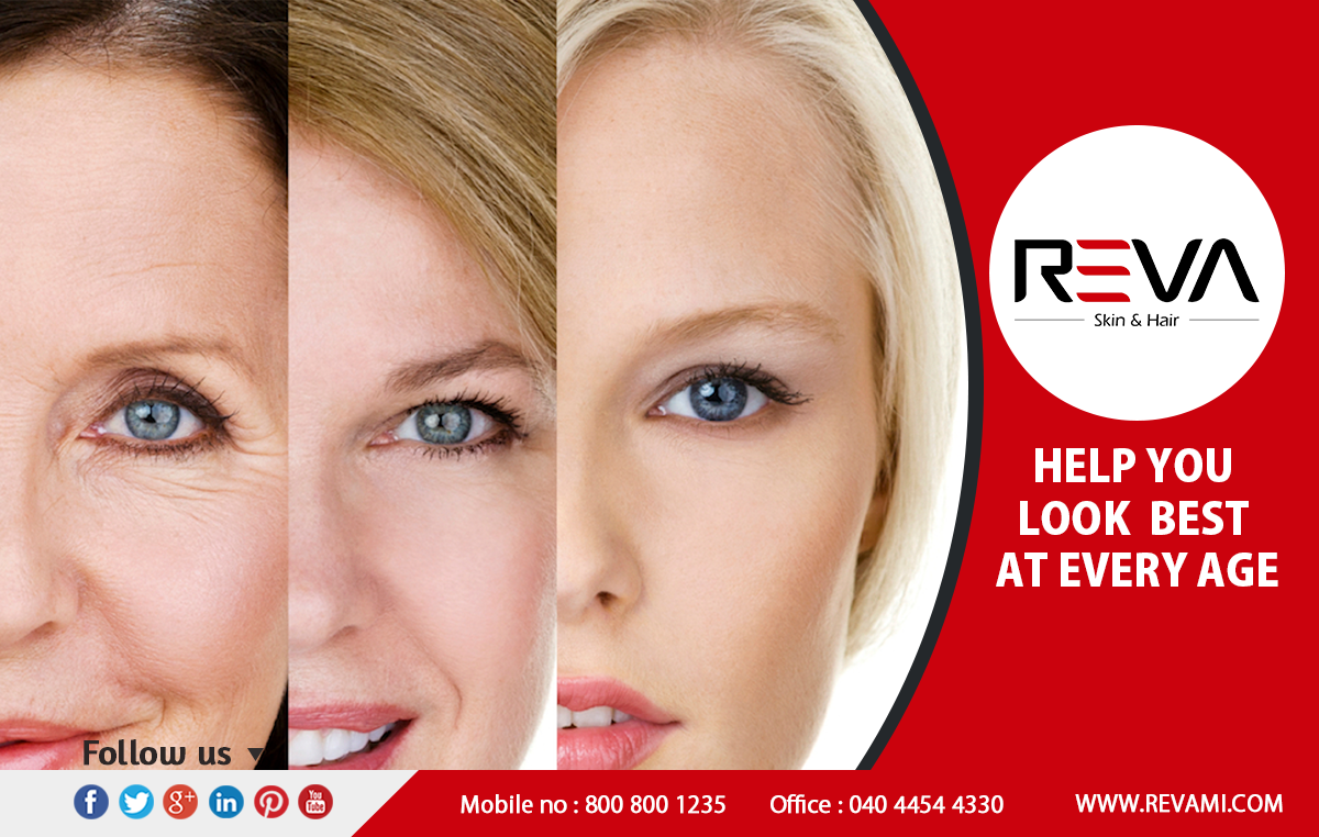 Help you look best at every age From REVA 