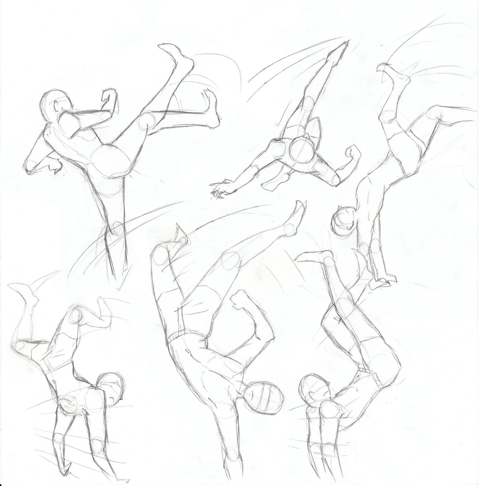 Kick Fighting Poses By Camille Love Cat Fighting Poses Art Poses Anime Poses