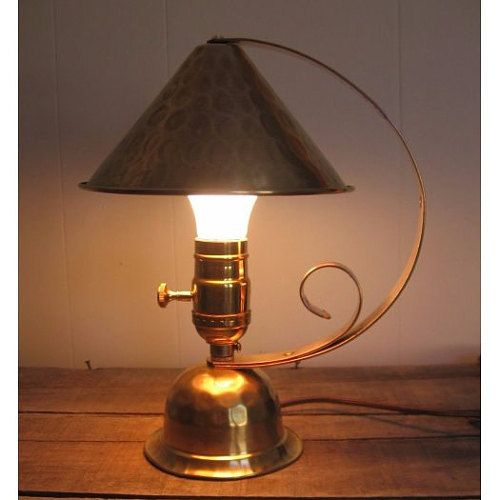 Vintage Lighting And Lamp Parts By Thelamppostofmaine On Etsy Lamp Lamp Parts Hammered Brass Lamp