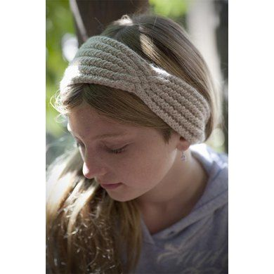 Headband With A Twist Knitting Patterns Patterns And Sport Weight